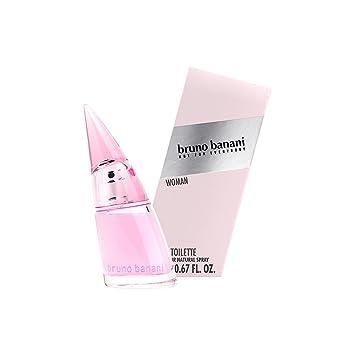 bruno banani Woman – Eau de Toilette Natural Spray – Blumig fruchtiges Damen Parfüm – 1er Pack (1 x 20ml)