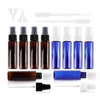 Botellas de spray para adolescentes, 30 ml, a prueba de fugas, plástico anti