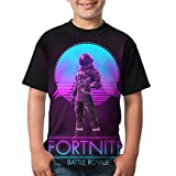 Voyager Youth Boys Short Sleeve Crew Neck Tees T Shirt XS
