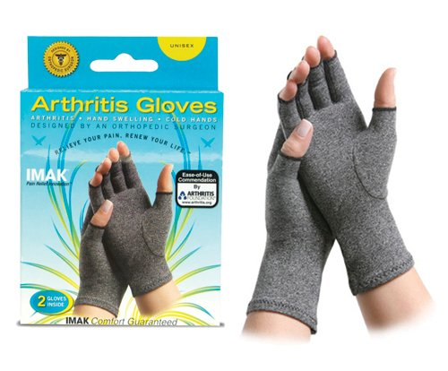 SPECIAL PACK OF 3-IMAK Arthritis Gloves-Small/pr by Marble Medical