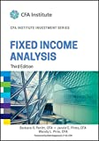 img - for Fixed Income Analysis (CFA Institute Investment Series) book / textbook / text book