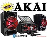 Akai Ultimate Bluetooth Karaoke Machine CD+G with 150W and Lighting Effect KS5500-BT