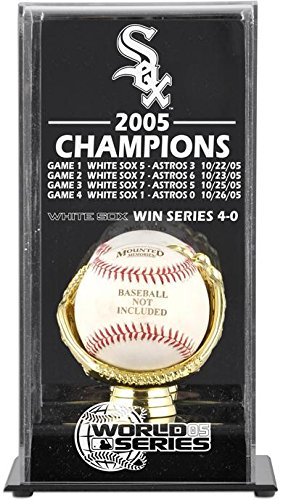 2005 Chicago White Sox World Series Champs Display - Series White 2005 Sox World Chicago