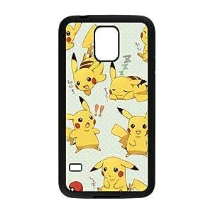 Anime cartoon Pokemon Pikachu Cell Phone Case for Samsung Galaxy S5
