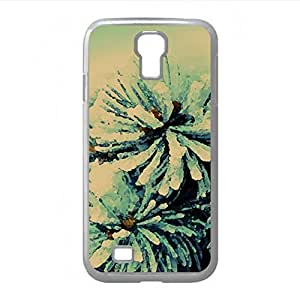 Fir Branch Watercolor style Cover Samsung Galaxy S4 I9500 Case (Forests Watercolor style Cover Samsung Galaxy S4 I9500 Case)