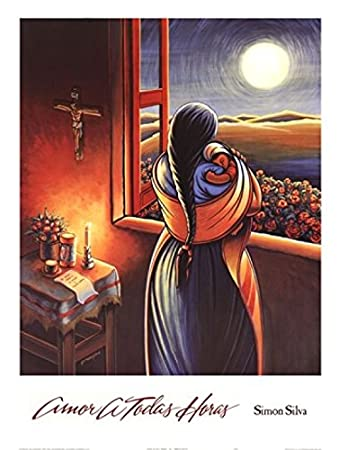 Amor a Todas Horas (Love at all Hours) Mother and Child Art Print Poster