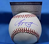 #6: CHIPPER JONES Signed PSA DNA COA Major League Baseball Autograph Authentic