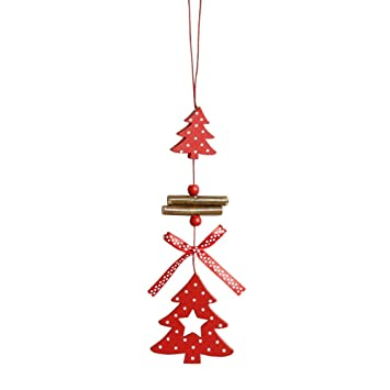 Angel Shaped Christmas Tree.Liqiqi Christmas Hanging Decorations For Tree Wooden Heart