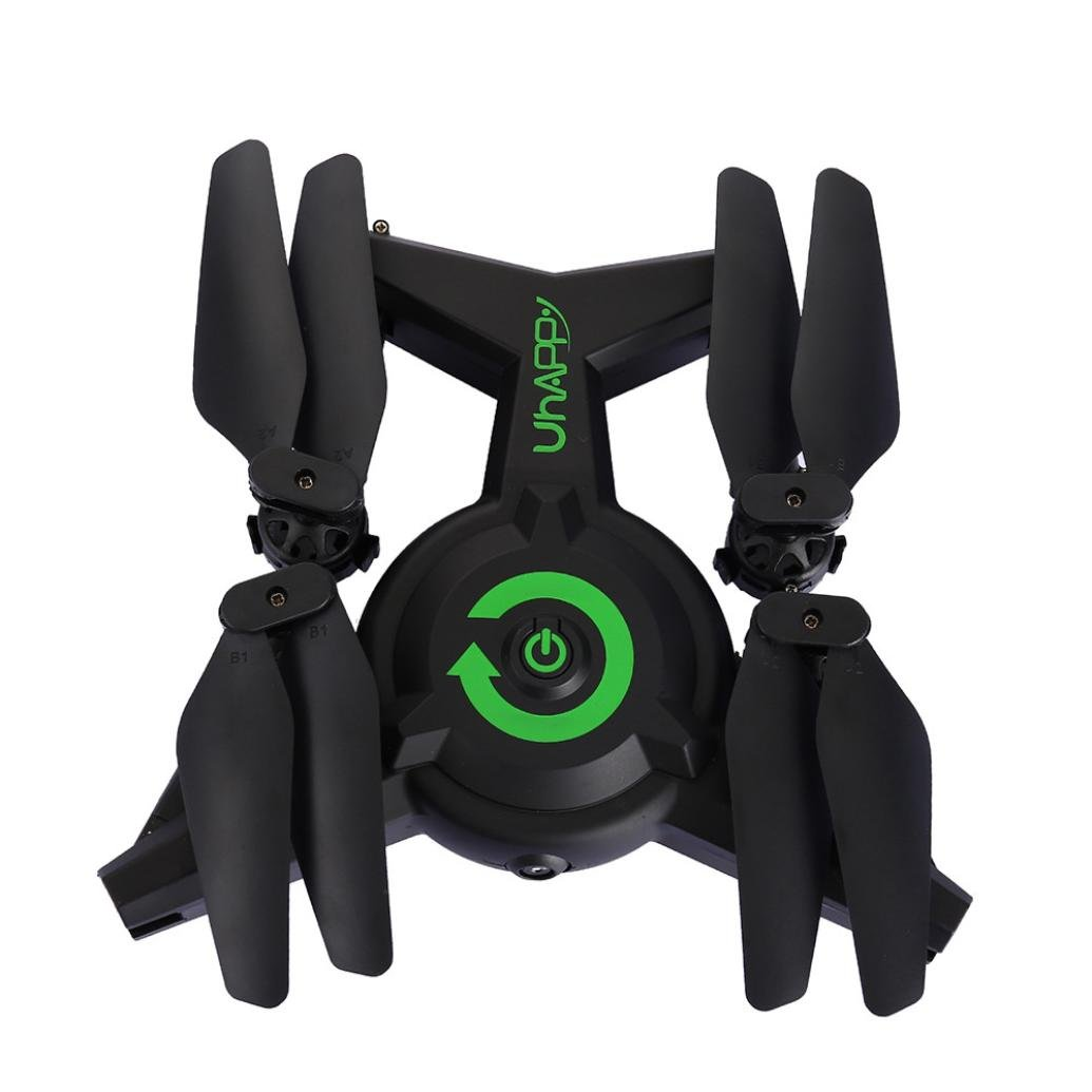 Bescita Uhappy FC-1 Drohne mit 2MP HD Kamera, 2.4G Höhe halten Modus Quadcopter RC WiFi FPV Hover Helicopter