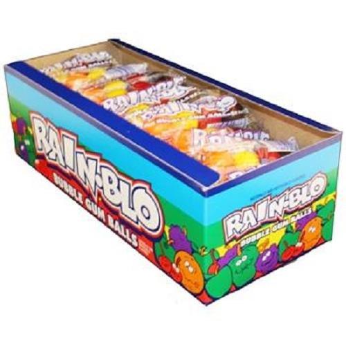 RAINBLO BUBBLE GUM BALLS 0.53 oz Each ( 48 in a Pack ) ()