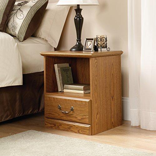 home, kitchen, furniture, bedroom furniture,  nightstands 4 image Sauder Orchard Hills Night Stand, Carolina Oak finish deals