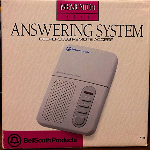 Bell South Memento 1111 Remote Access Answering Machine System