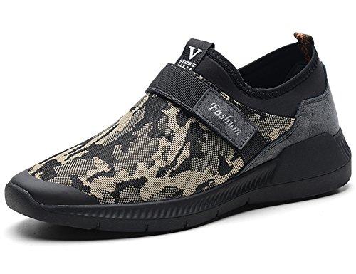de GNEDIAE Chaussures de Chaussures Chaussures 8766 air Course Sport de Sport Sport Plein Marron de Fitness de Hommes Chaussures Sport 85zqFw8r
