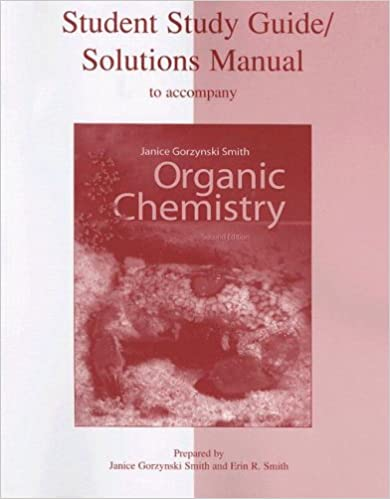 Amazon student study guide solutions manual to accompany amazon student study guide solutions manual to accompany organic chemistry 2nd edition 9780073049878 janice gorzynski smith erin r smith books fandeluxe Gallery