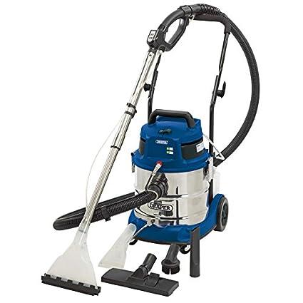 Draper 20529 30L 1600W Wet /& Dry Vacuum Cleaner Integrated 230V Power Socket VAX