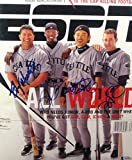 2001 Seattle Mariners Autographed Framed ESPN