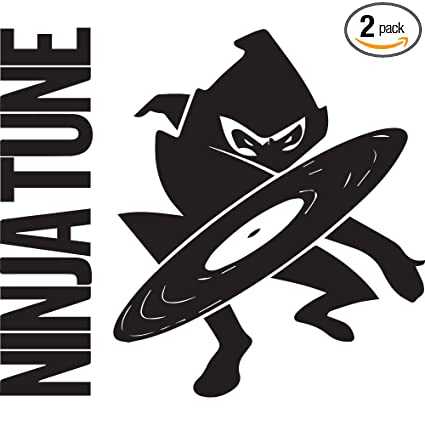 Amazon.com: Ninja Tune Records (Black) (Set of 2) Premium ...