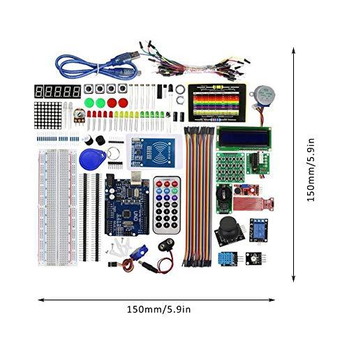 Kit de Aprendizaje Aprendizaje Aprendizaje Super Starter (NO Tablero UNOR3) para el Kit Educativo de programación Arduino 577c1b