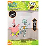 Amscan Silly Sponge Bob Party Patrick & Squid Ward Scene Setter Add-Ons Wall Decorations, Multicolor, 4 (Two-Pack)