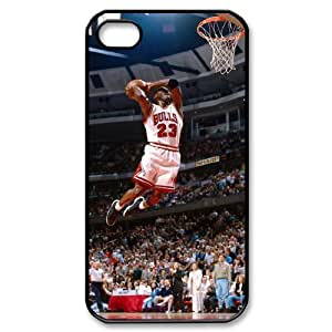 Michael Jordan Brand New Cover Case for Iphone 4,4S,diy case cover ygtg-353407