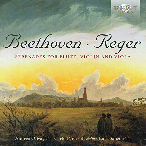 Beethoven & Reger: Serenades for Flute, Violin and Viola (Ludwig Viola)