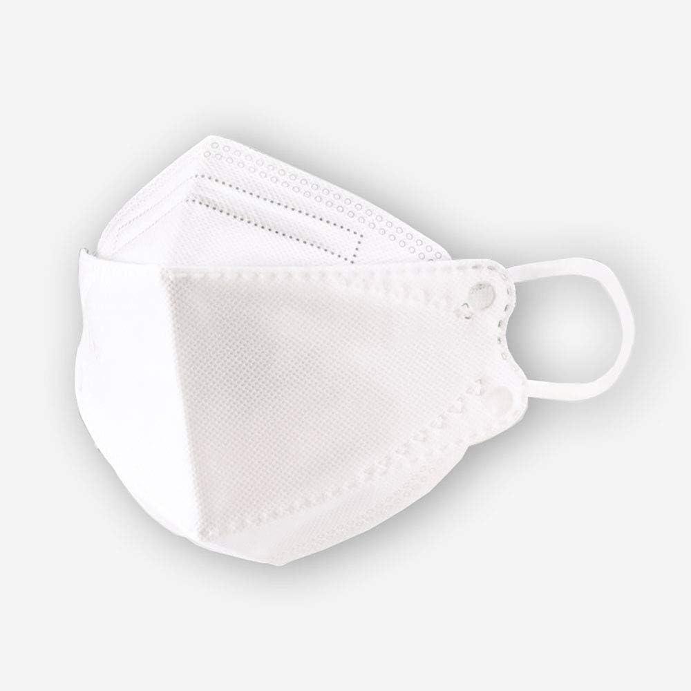 Delibest - Mascarilla para la Cara a Prueba de Polvo, para protección de Enfermedades infecciosas (5 Unidades), Color Blanco