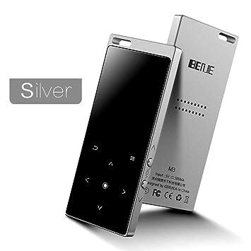 BENJIE M3 mp3 - Reproductor de música (8 GB, Reproductor de ...