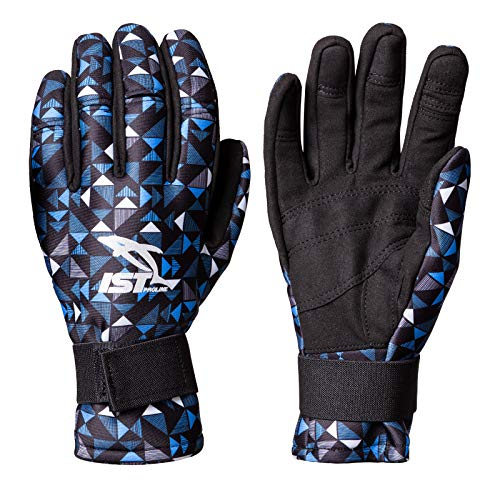 IST 2mm Neoprene Dive Gloves | Scuba Diving Gear Apparel for Snorkeling, Freediving and Fishing (Gradient Blue, Small)