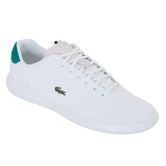 Lacoste Hombre Avance 119 1 Zapatillas SMA, Blanco: Amazon.es: Ropa y accesorios
