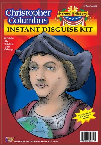 60389/195 Christopher Columbus School Project Kit (Kids Christopher Columbus Costume Kit)