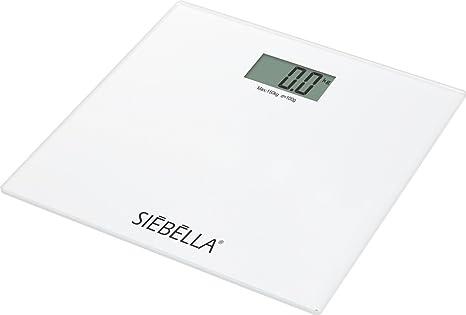 Carpemodo Báscula Color Blanco, Capacidad de Carga: 150 kg