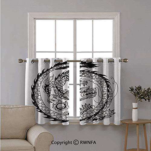 Black Dahlia Costumes Tips - RWNFA Fashion Home Short Curtains Half