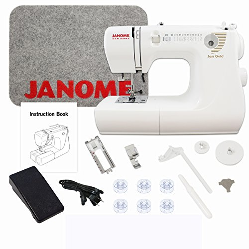- Janome Jem Gold 660 Sewing Machine Includes Exclusive Bonus Bundle