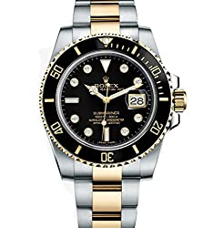 Rolex Submariner Diamond Dial Yellow Gold Watch