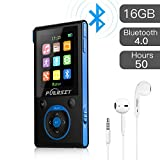Best Audio Book Players - Puersit MP3 Player with Bluetooth, HIFI Lossless Sound Review