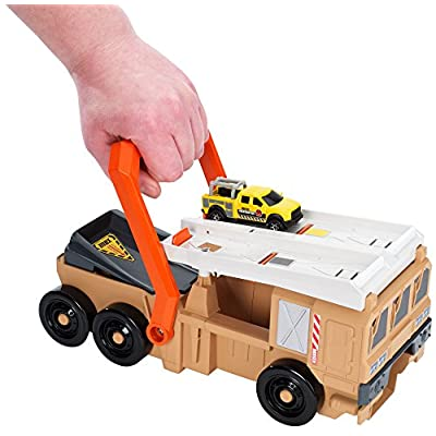 Matchbox Power Launcher Military Truck: Toys & Games