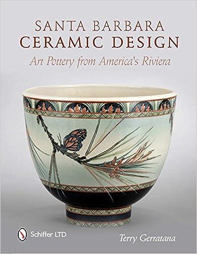 Book Santa Barbara Ceramic Design: Art Pottery from America's Riviera