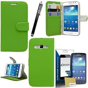 'Sleek Gadgets–Funda protectora con tapa, protector de pantalla y lápiz digital para Samsung Galaxy Express 2SM-G3815