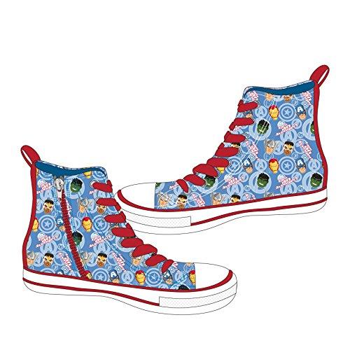 Arditex Jungen Avengers Sneaker Blau (Bleu)