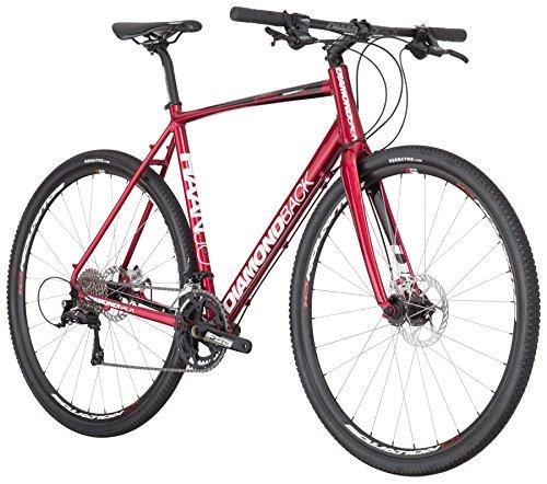 Diamondback Bicycles 2016 Haanjo Complete Alternative Road Bike, 50cm/X-Small, Red Diamondback Bikes
