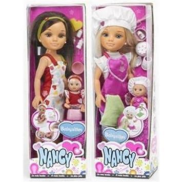 Amazon.es: Nancy - Muñeca babysitter (surtido: modelos aleatorios): Juguetes y juegos