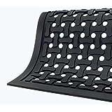 Andersen 420 Black Nitrile Rubber Comfort Flow Anti-Fatigue Mat, 3-Feet Length X 2-Feet Width, for Indoor