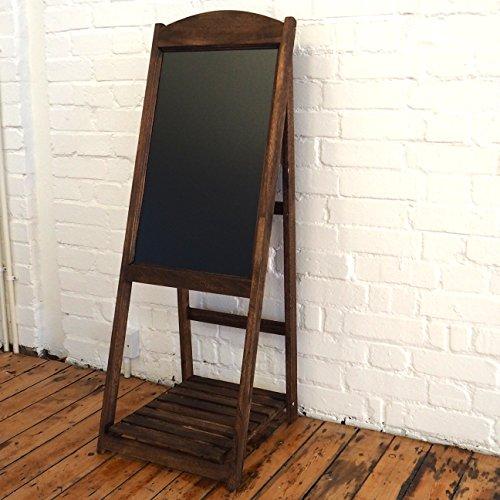 Chalkboard Sandwich Board Easel In Vintage Rustic Style