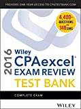 img - for Wiley CPAexcel Exam Review 2016 Test Bank: Complete Exam book / textbook / text book