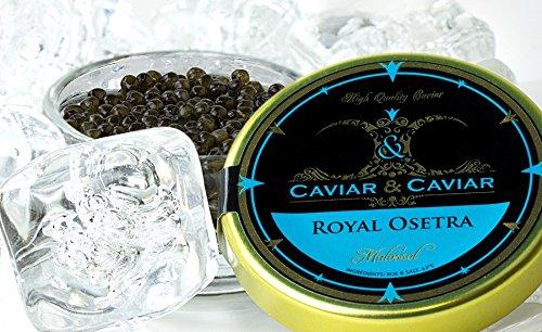 LIMITED TIME OFFER!FRESH Royal Osetra Farmed Caviar Imported - 4 oz/112g Jar -