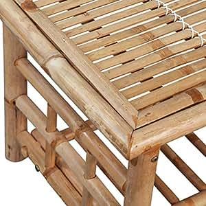 VidaHome Coffee Table Bamboo