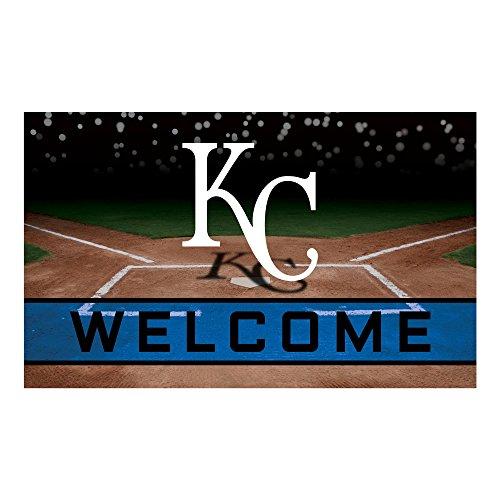 - MLB Kansas City Royals Heavy Duty Crumb Rubber Door Mat