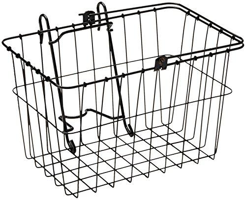 Wald 133 Front Bicycle Basket (14.5 x 9.5 x 9, Black) (Bicycle Basket Wald)