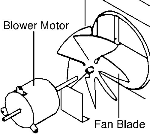 Fan Blade 6733-3221 for Coleman Mach by Coleman