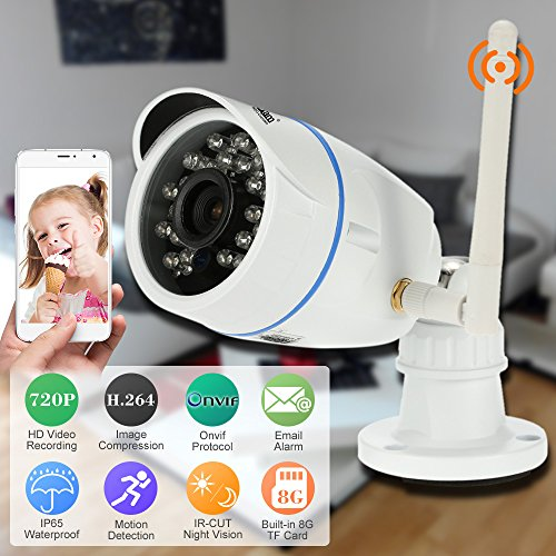 NEO Coolcam Outdoor Waterproof 1.0MP HD 720P Wifi IP Camera Wireless Security Camera 21 IR LEDS IP Cam Night Vision APP Control